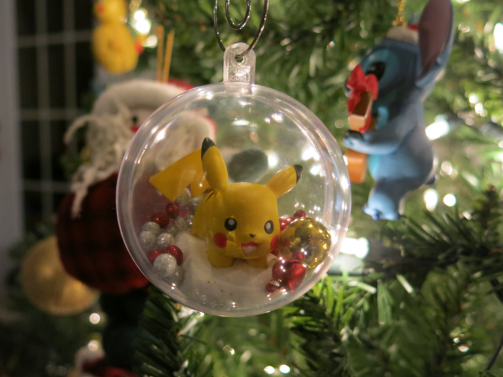 Pikachu Christmas Ornament.Diy Pokemon Christmas Decorations Cindy Kohler
